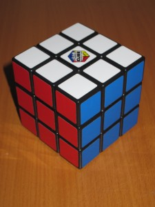 3-sides Completed on Rubik's Cube
