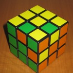 3-sides of a Rubik's Cube (incomplete)